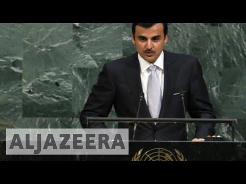 Qatar Emir Sheikh Tamim's UN speech in full
