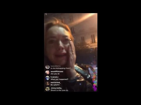 Woman strikes Lindsay Lohan live on Instagram during 'attempted kidnapping'