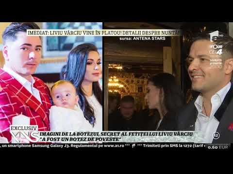 Imagini de la botezul secret al fetiţei lui Liviu Vârciu: