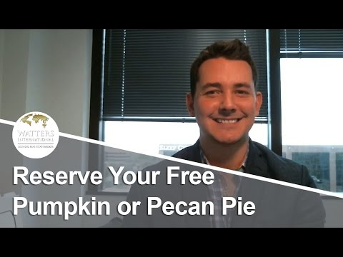 Greater Austin Real Estate Agent: Reserve Your Free Pumpkin or Pecan Pie