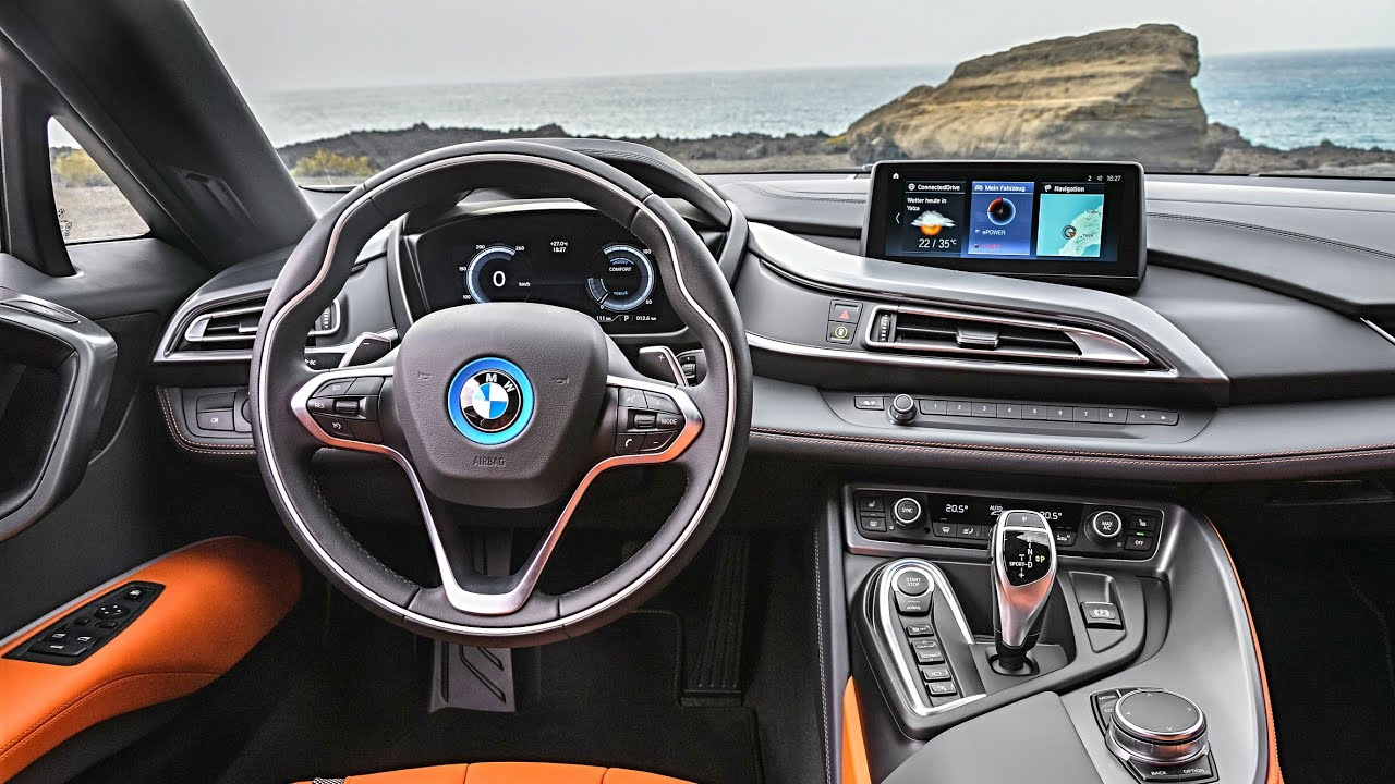 Bmw I8 2018 Convertible And Roadster Interior Exterior Test Drive