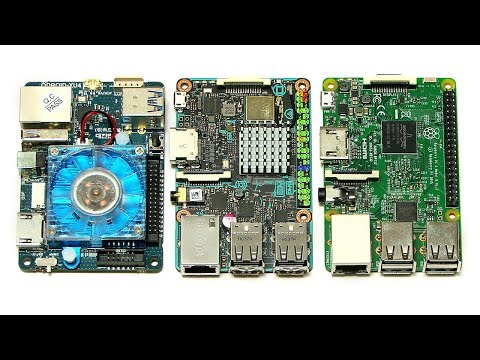 ODROID-XU4 vs Tinker Board & Raspberry Pi 3
