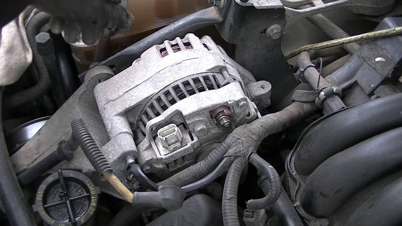 hight resolution of changing a alternator in real time taurus sable and more 1995 2010