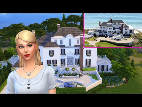 The Sims 4 Celebrity Mansion Build - Taylor Swift Mansion Part 2