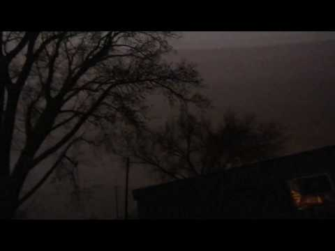 Stillwater, Oklahoma Thunderstorms - Tuesday, March 28, 2017