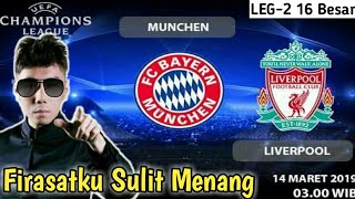 Prediksi Munchen vs Liverpool Leg-2 Round 16 Champions 2019 | Line Up Bayern Munchen vs Liverpool