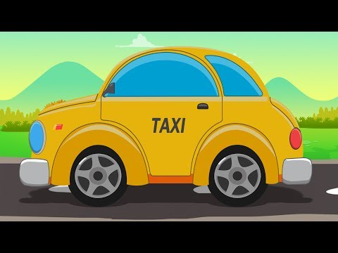 Taxi | Formation & Uses | Street Vehicle | Yellow Vehicle for Children & Babies