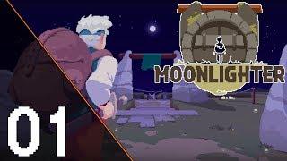 MoonLighter #01 - Kim jestem Bohaterem czy Sklepikarzem?