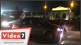 جماهير الزمالك تحتفل برباعية الوداد أمام أستاد برج العرب