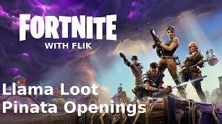 Fortnite - Opening 15 Llama Loot Pinatas (and 2 Founder Llamas)
