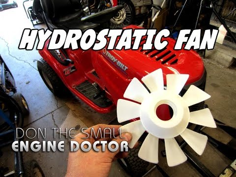 HOW-TO Replace A Lawn Tractor Hydrostatic Fan