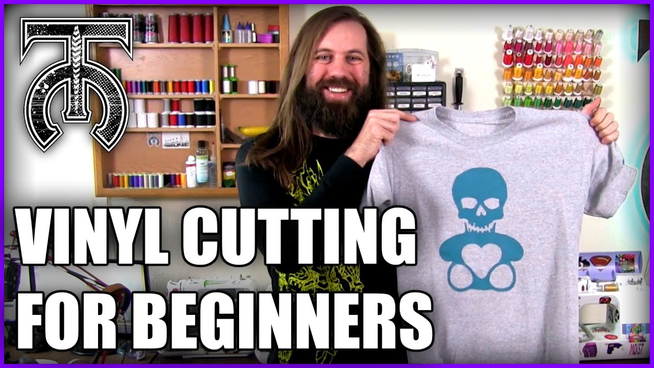 Vinyl Cutting for Beginners - Brother Scan N Cut - How to make a custom T-shirt!
