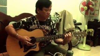 Đệm hát guitar Mắt biêc.                                     Guitar Nhật Quang.