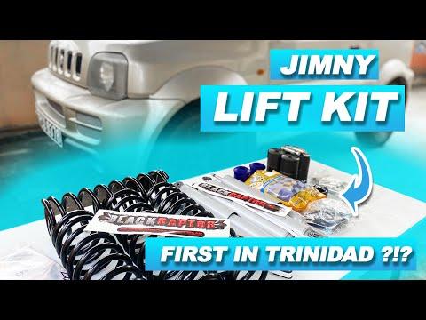 "Installing 2"" Suspension + 2"" Body Lift on Suzuki JB43 Jimny"