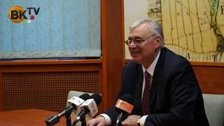 Dr. Aradszki András sajtótájékoztatója