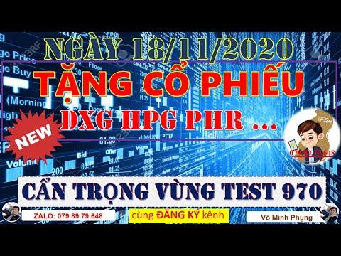 Chứng khoán hôm nay HPG VND PHR | Nhận định thị trường chứng khoán 18/11 | Cẩn Trọng Test Đỉnh 970