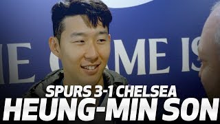 HEUNG-MIN SON ON INCREDIBLE GOAL V CHELSEA | SPURS 3-1 CHELSEA