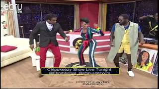 Aggie The Dance Queen Teaches DJ Shiti & Chipukeezy The Odi Dance