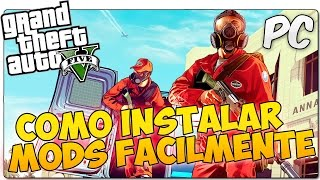 COMO INSTALAR MODS DE GTA 5 [GTA V] EN PC |  HOOK V | NO ONLINE