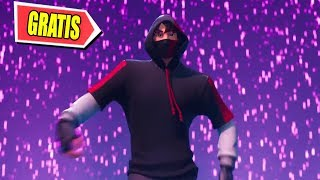 NEW IKONIK SKIN **FREE** FOR A FAILURE ? FORTNITE