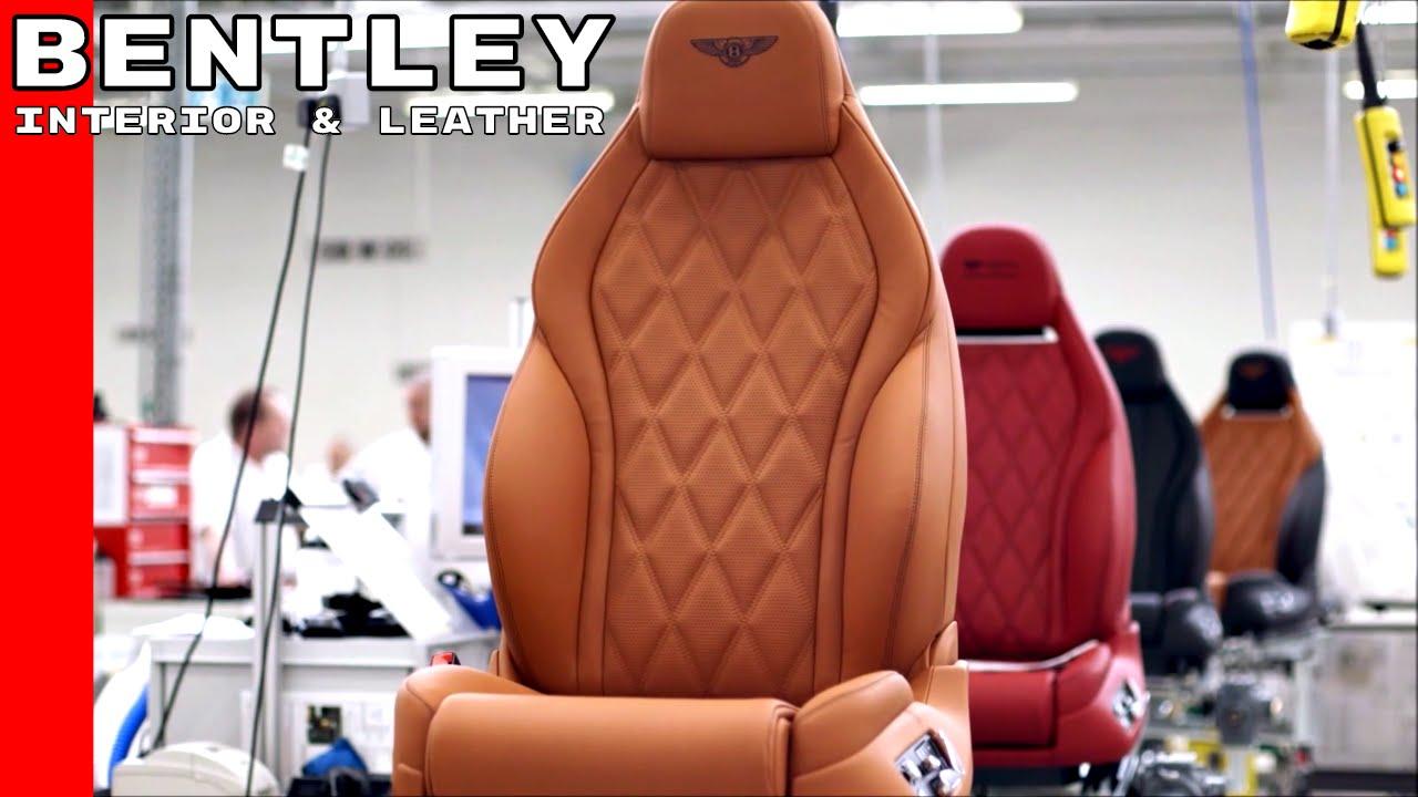 Да надникнем в завода на Бентли, където се правят техните кожени салони!