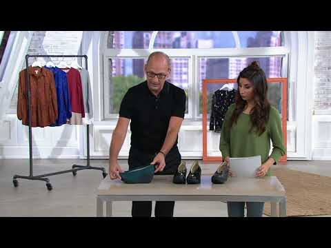 FLY London Patent Leather Slip-On Wedges - Yaz on QVC