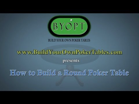 """How to Build a Round Poker Table Animation - 4"""""""