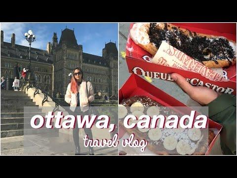 CANADA TRAVEL VLOG 2016 ♡ Ottawa, Canada