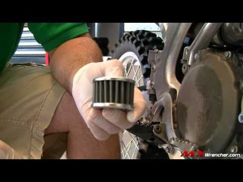 MXWrencher.com - How to do a 4 Stroke Oil Change