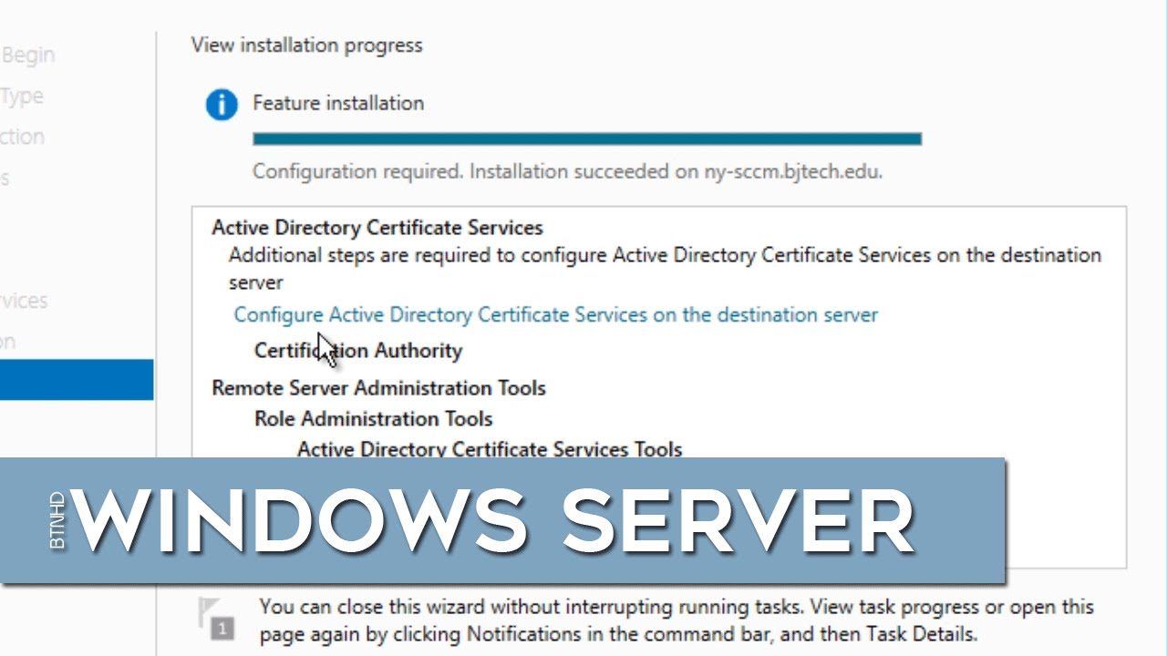 Deploying A Standalone Root Ca In Windows Server 2012 R2 Youtube