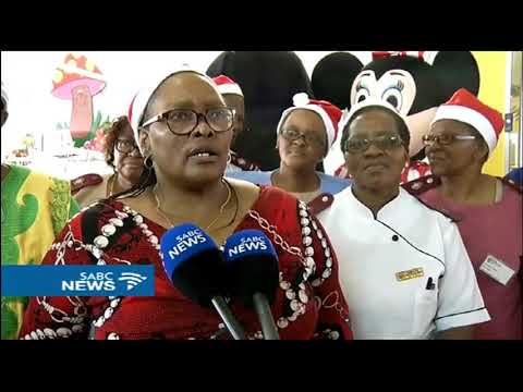 Early Christmas for underprivileged children at PE hospitals