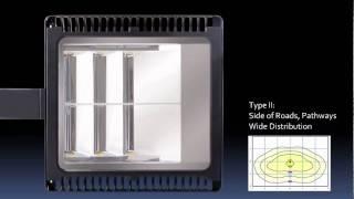 rab aled78 led area light with grade optics