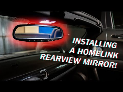 Installing A Homelink Auto Dimming Mirror Into My Nc Miata Youtube