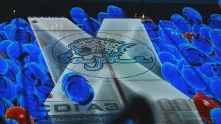 3D-шоу на новой ледовой арене Астаны