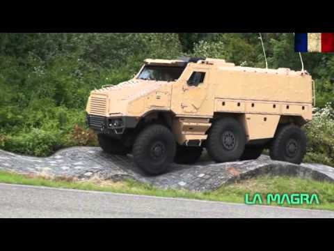 NEXTER TITUS *** 6X6 Armored Fighting Vehicle  - Demonstration