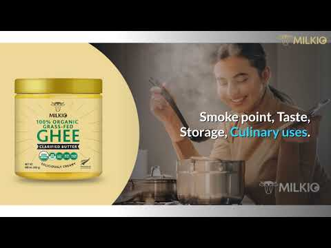 Ghee Clarified butter difference: Which one is healthier