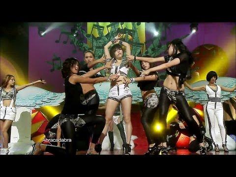 【TVPP】Brown Eyed Girls  Abracadabra, 브아걸  아브라카다브라 @ Summer Special, Music Core