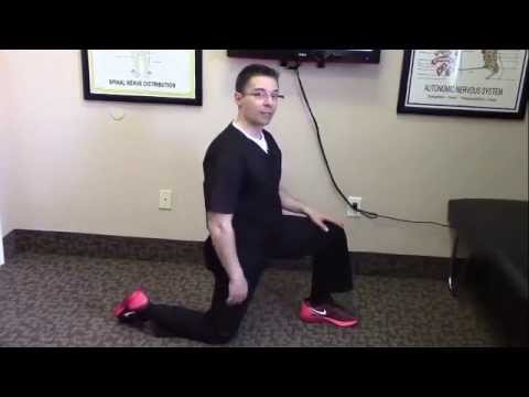 Low Back Pain stretching Psoas muscle Chiropractor Salt Lake City West Valley