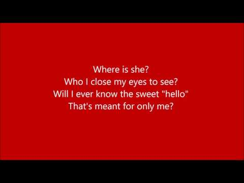 Where Is Love? Karaoke / Instrumental Oliver