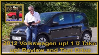 Review and Virtual Video Test Drive in our 2012 Volkswagen up! 1 0 Take up! 3dr OE12FRV