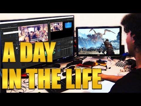 A Day In The Life Of A Gaming Youtuber | Vlog