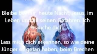 Bleibe bei mir Herr  Gebet des Heiligen Pater Pio