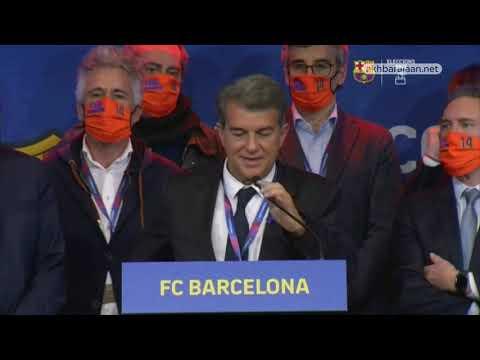رسمياً.. خوان لابورتا رئيساً لبرشلونة