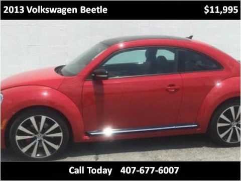 2013 Volkswagen Beetle Used Cars Orlando FL