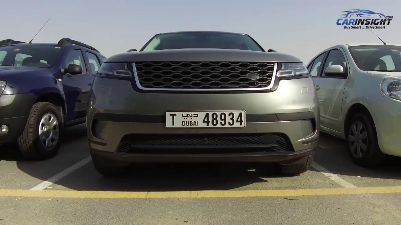 Range Rover Velar Spied In Dubai Youtube Black Bedroom