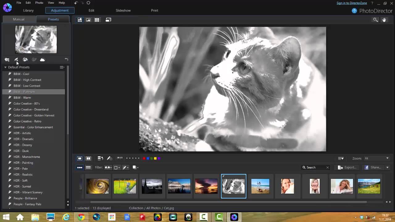 Migliora le tue foto applicando effetti e regolando luminosità, contrasto e molto altro