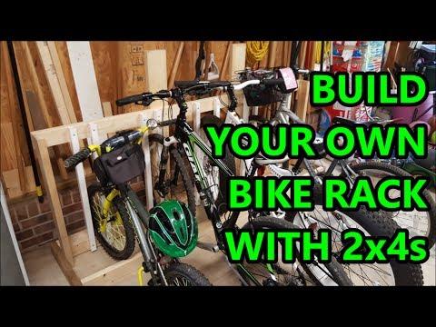 2017-05-27 - DIY 2x4 Bike Rack