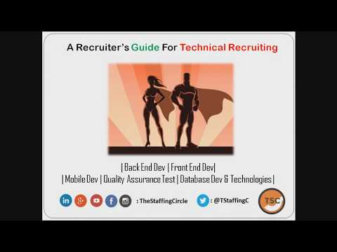 Recruiter's Guide To Technical Recruiting