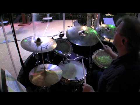 Joy To The World - druming in church worship service