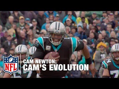 The Evolution Of Cam Newton   NFL